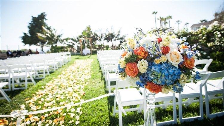 San Diego wedding venue overlooking the beach