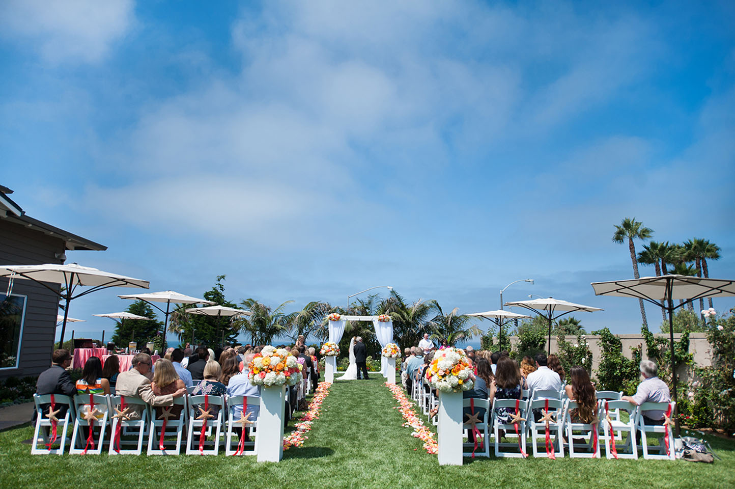 Wedding photo in Carlsbad